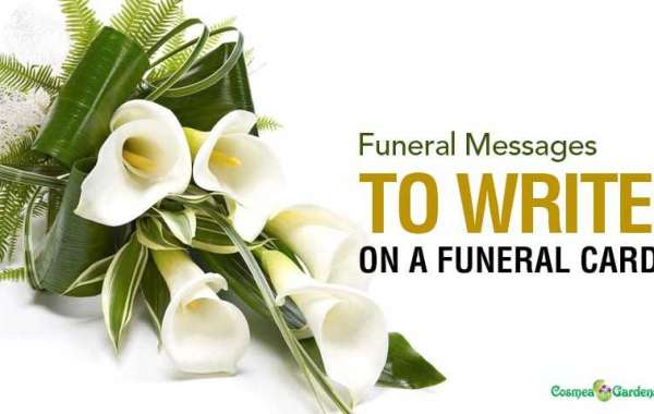 Funeral Card Messages